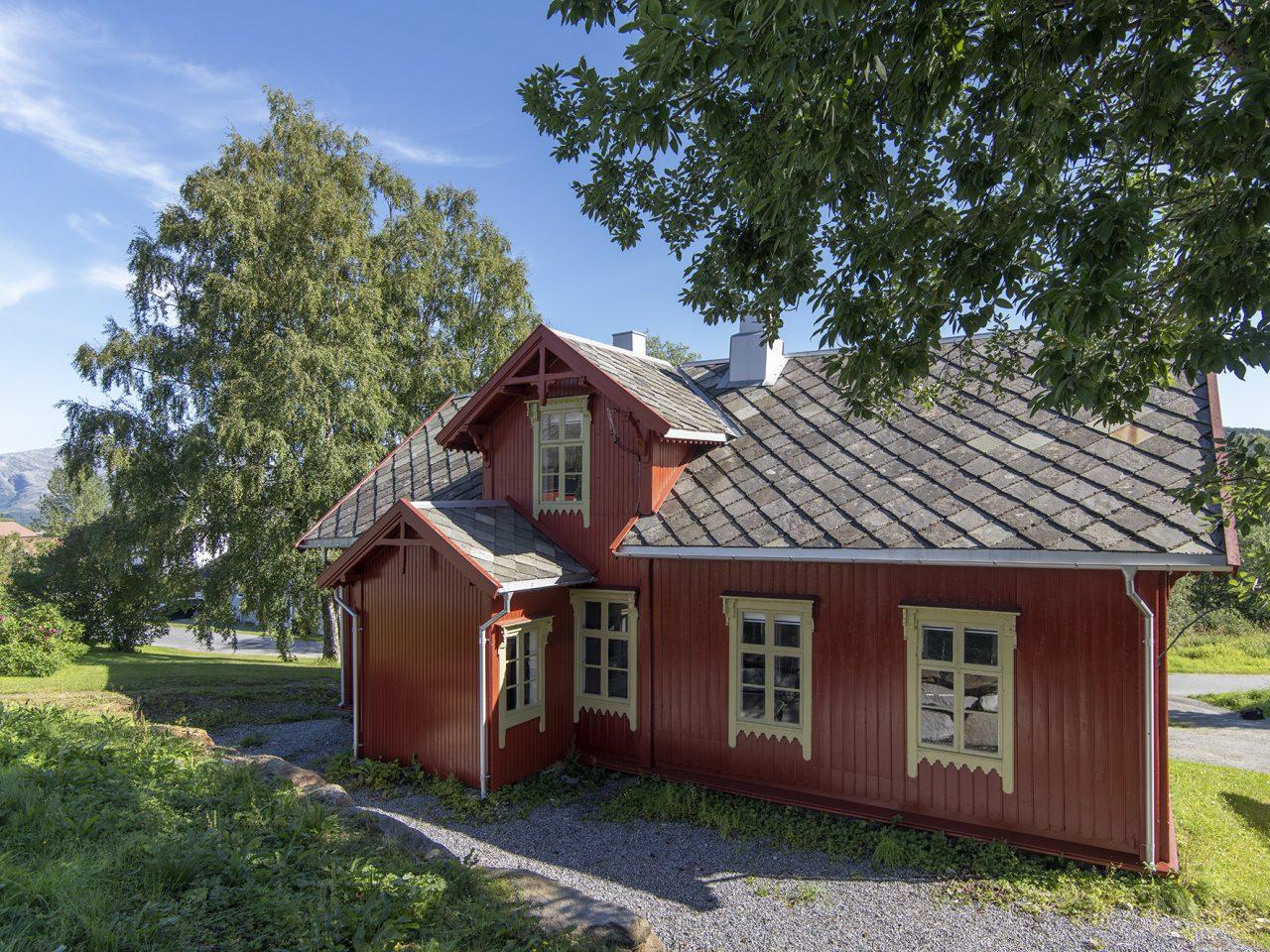 Gammelskolen på Leland i Leirfjord