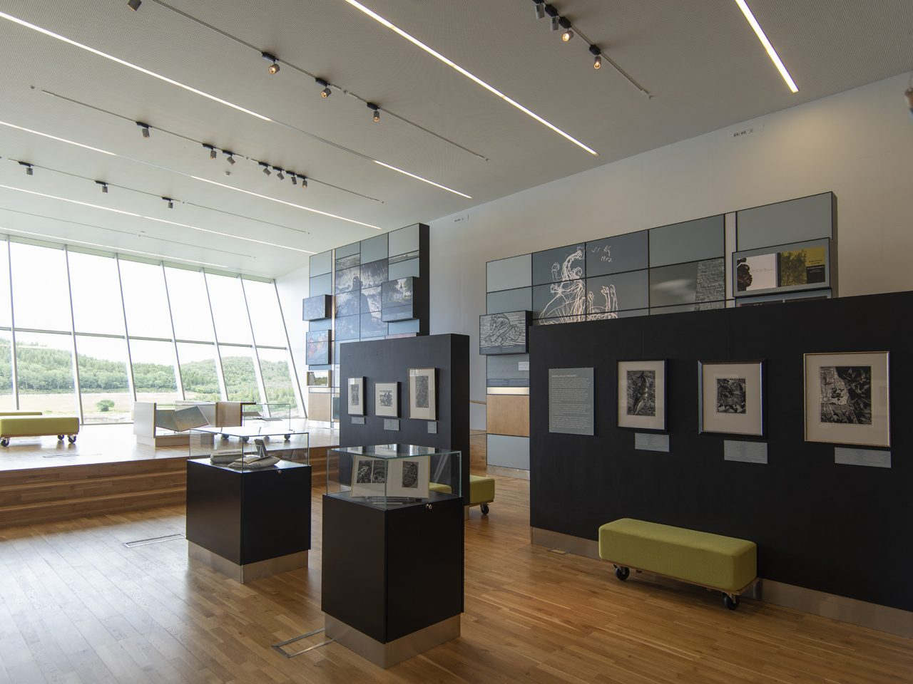 Petter Dass-museet hovedutstilling.