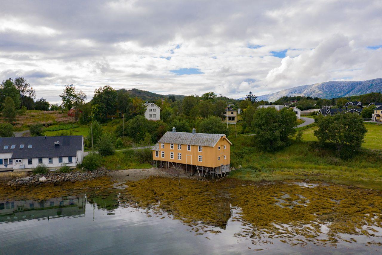 Bergh-brygga i Leirfjord