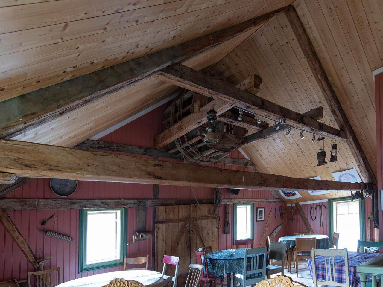 Loftet på Wangbrygga i Bardal