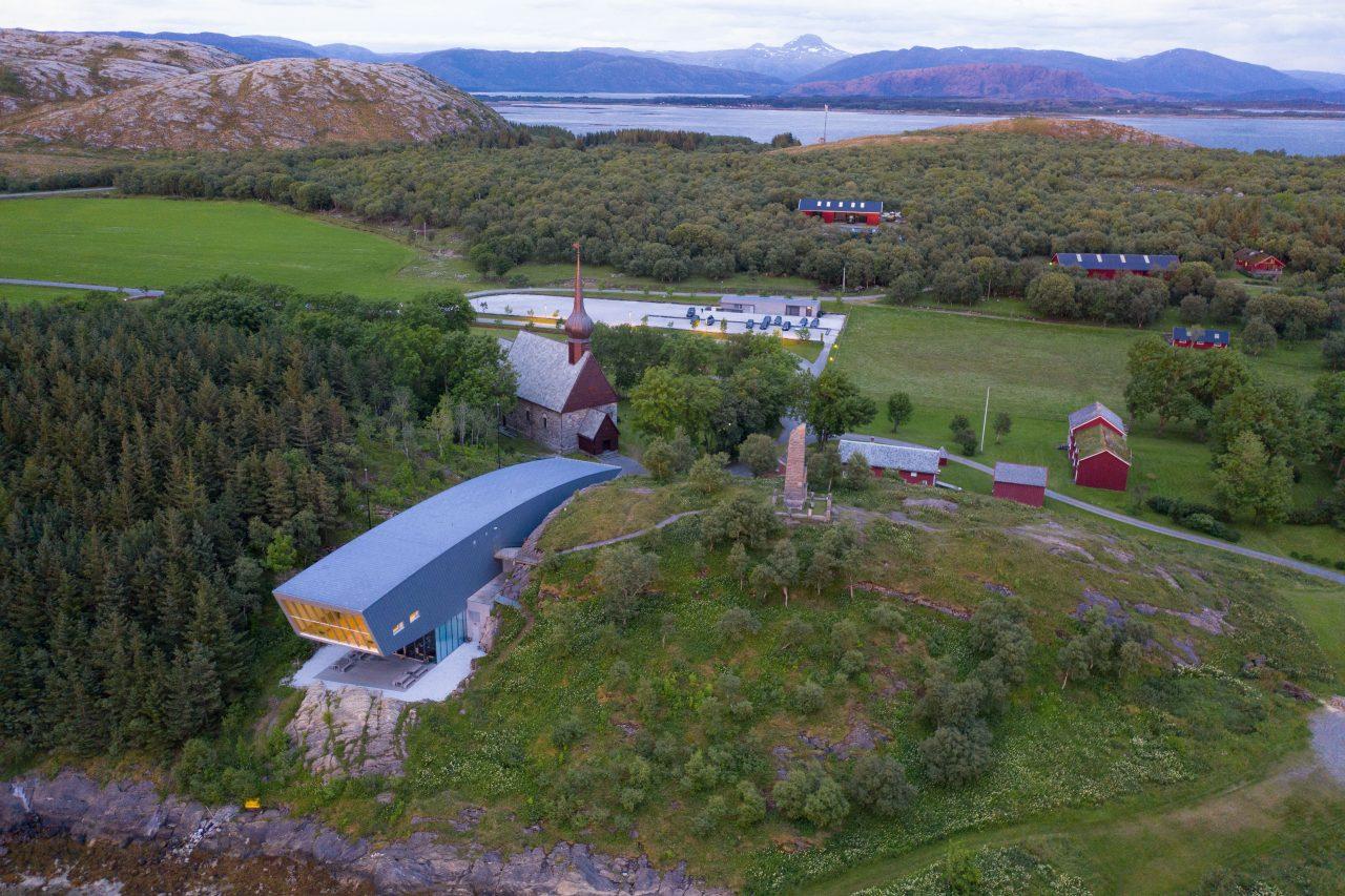 Petter Dass Dronebilde