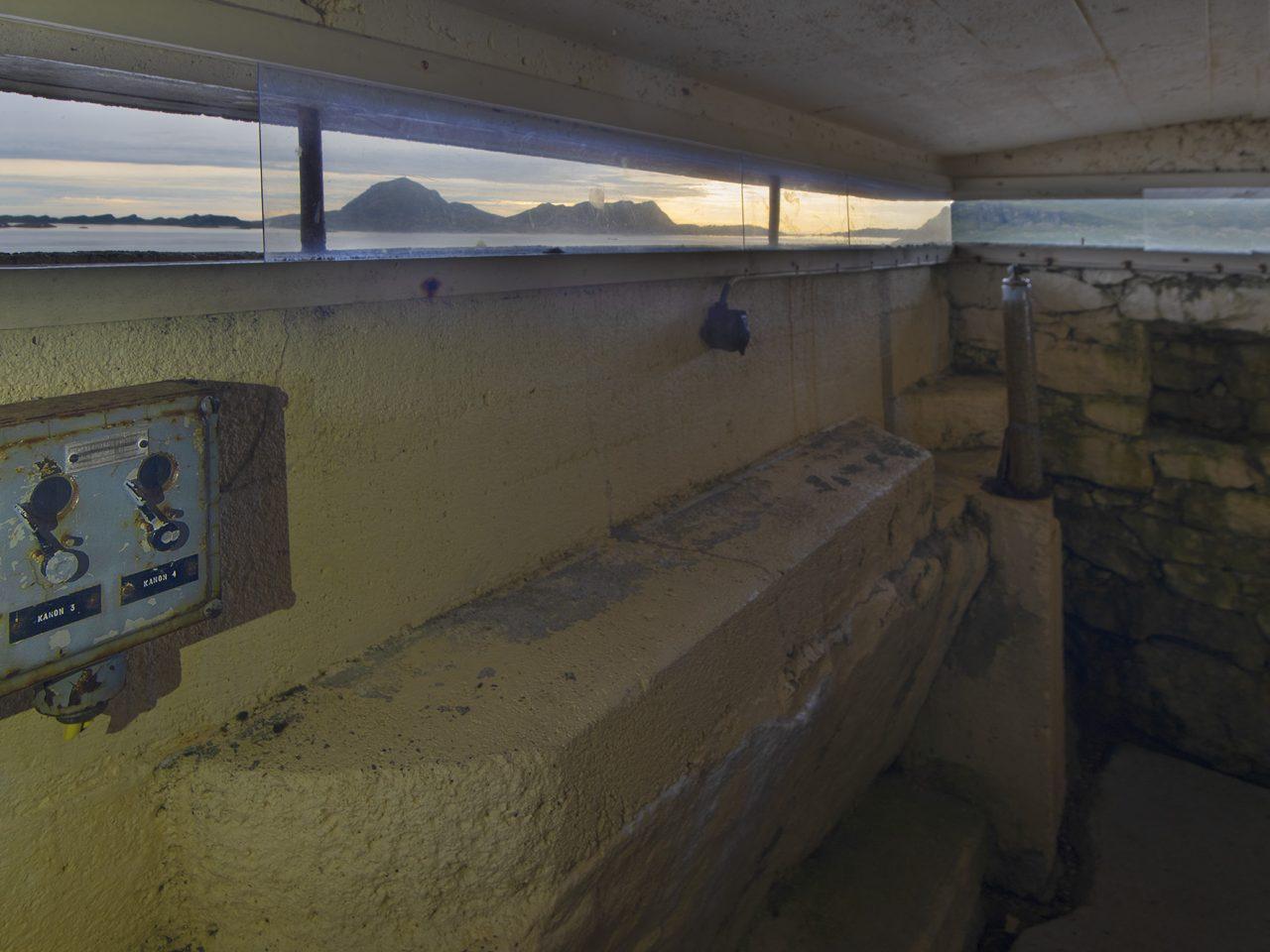 Kommandoplass på Grønsvik kystfort, Lurøy
