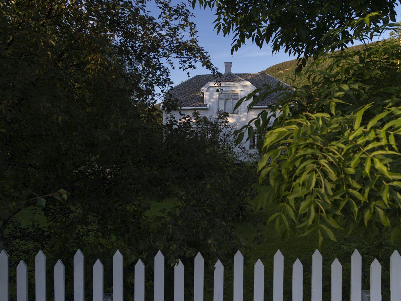 Nesna. Langsets hus i Sørvollvegen 3