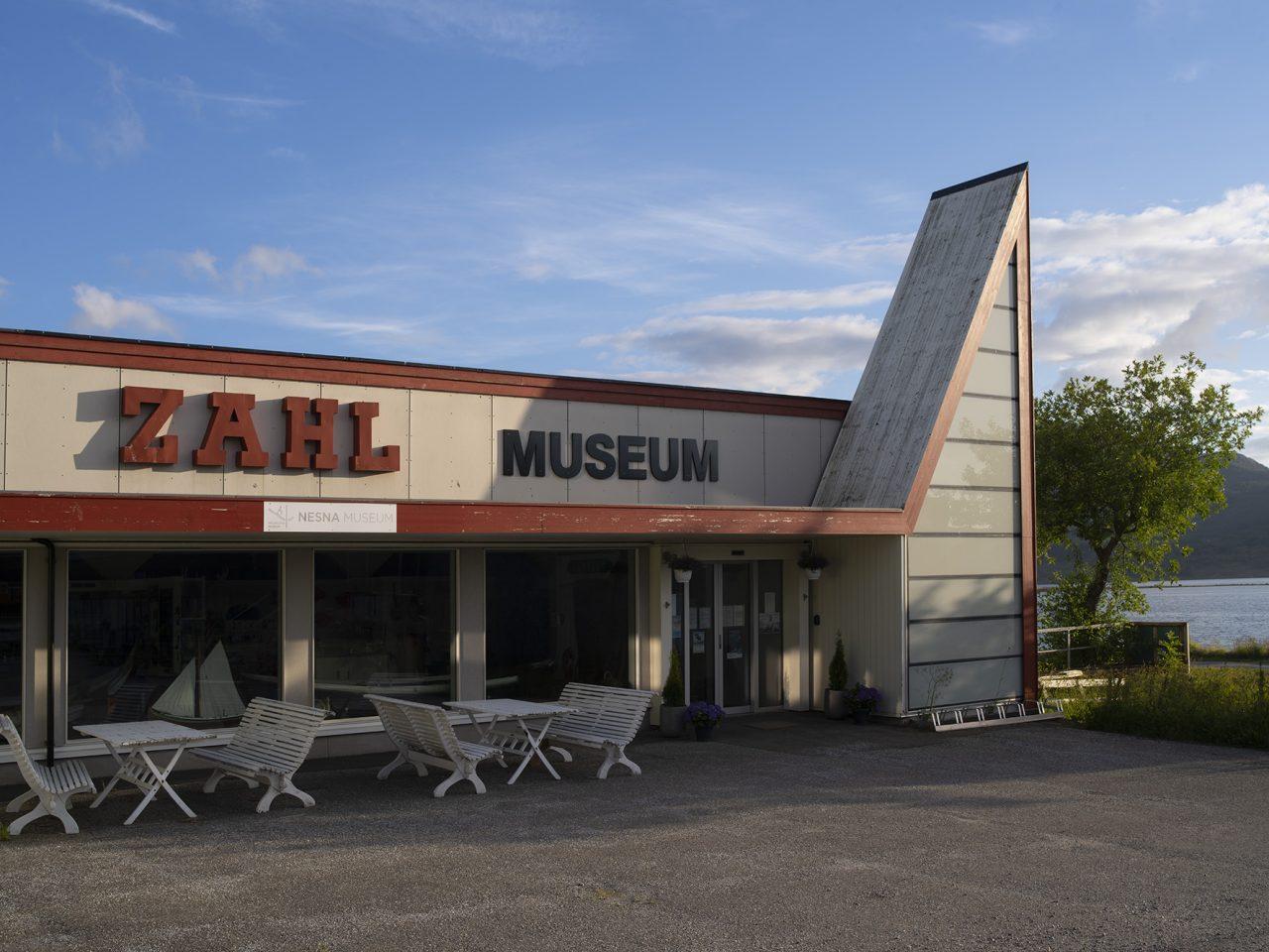 Museet på Nesna holder til i den gamle Zahlbutikken
