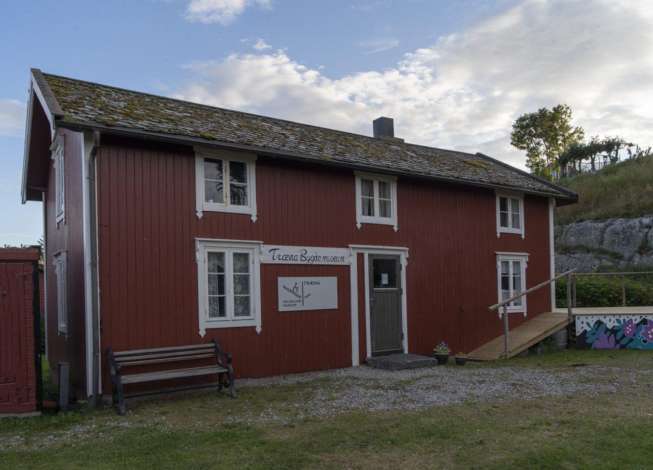 Træna. Museum Nordlandshus