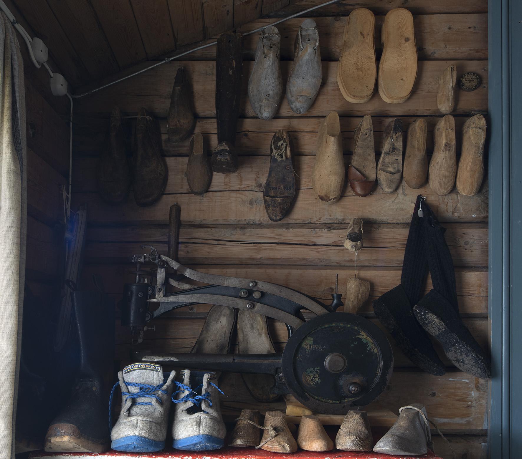 Træna Museum oppe sko