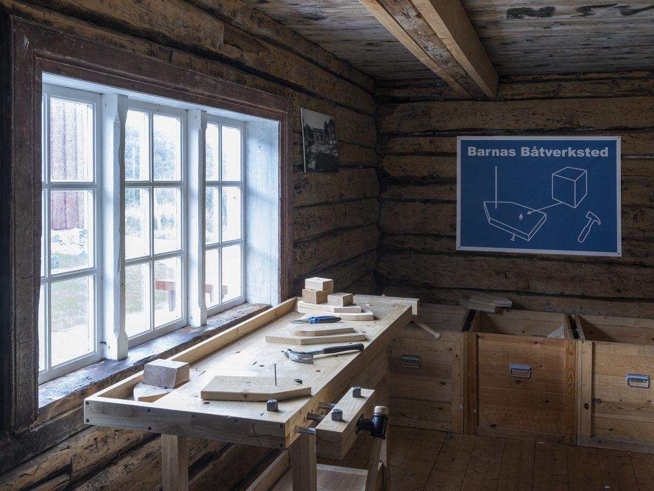Nordvika borgstue snekkerverksted