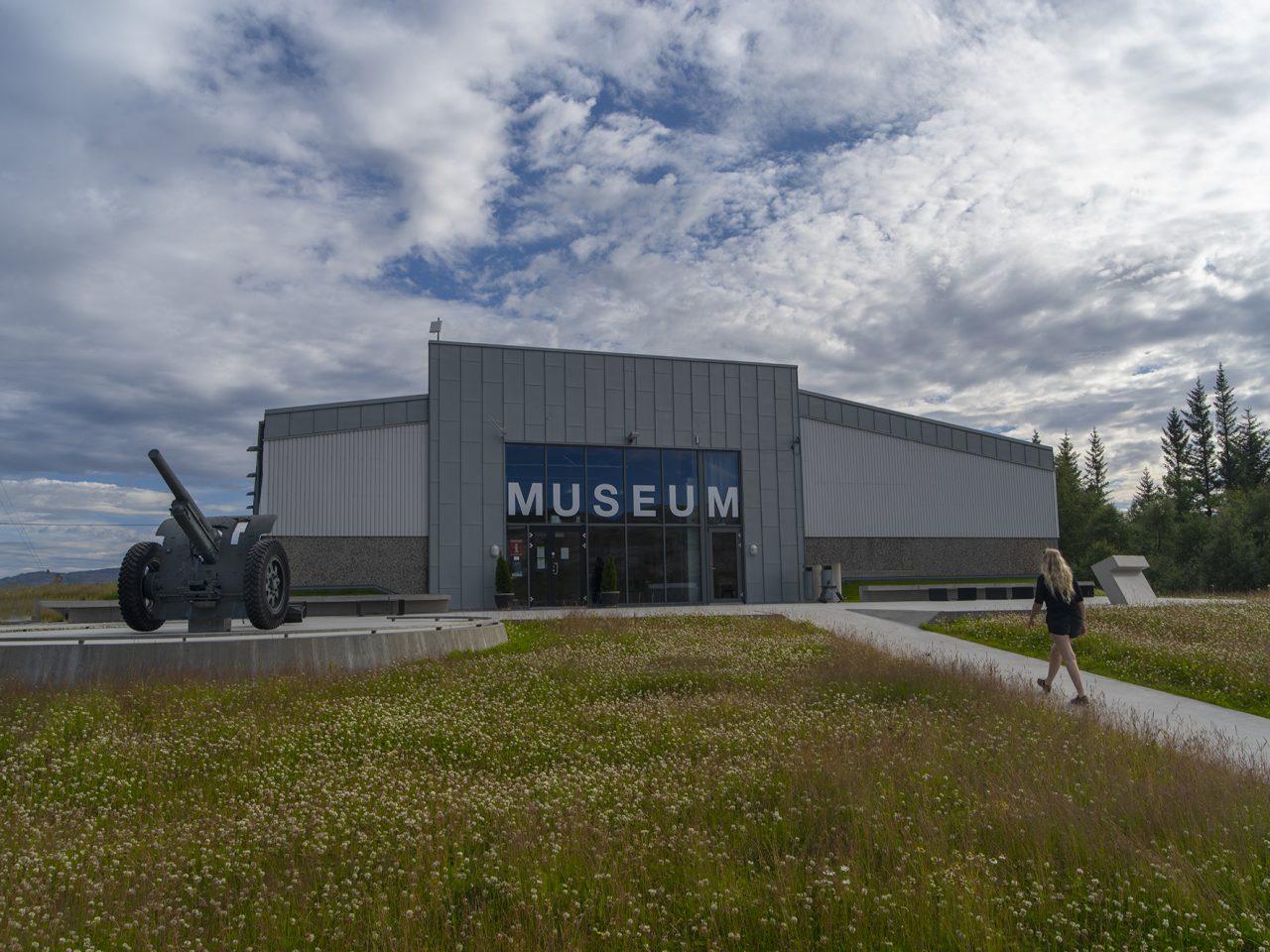 Museumbygningen på Grønsvik kystfort, Lurøy