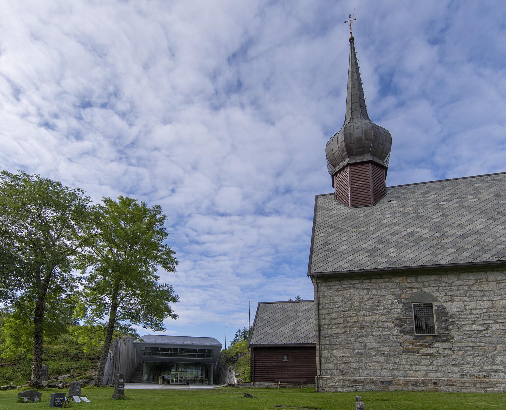 Petter Dass Alstahaug Kirke kuppel
