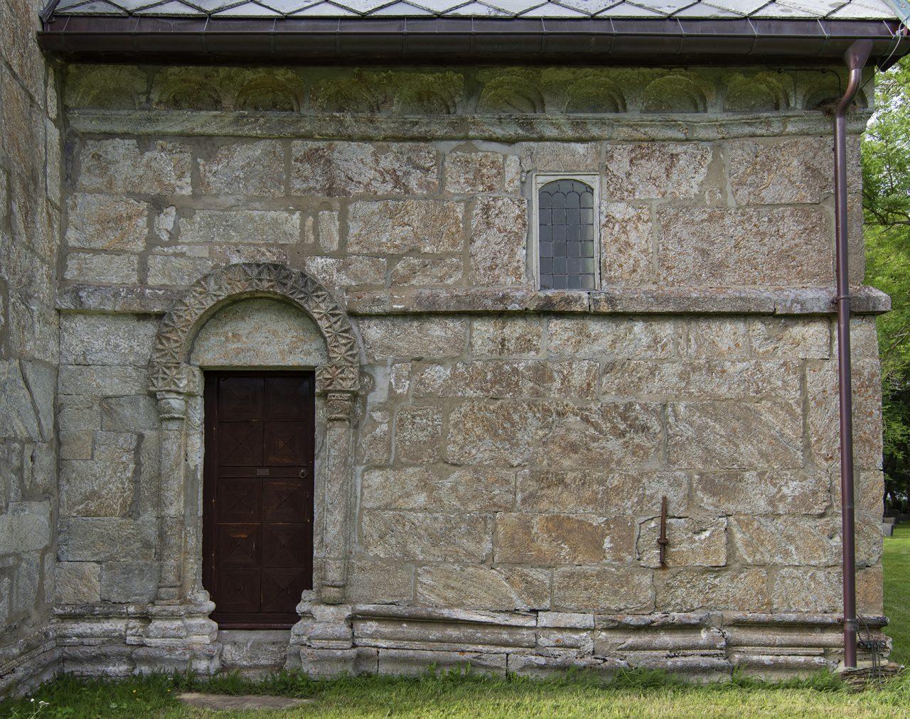 Petter Dass Alstahaug Kirke Detalj