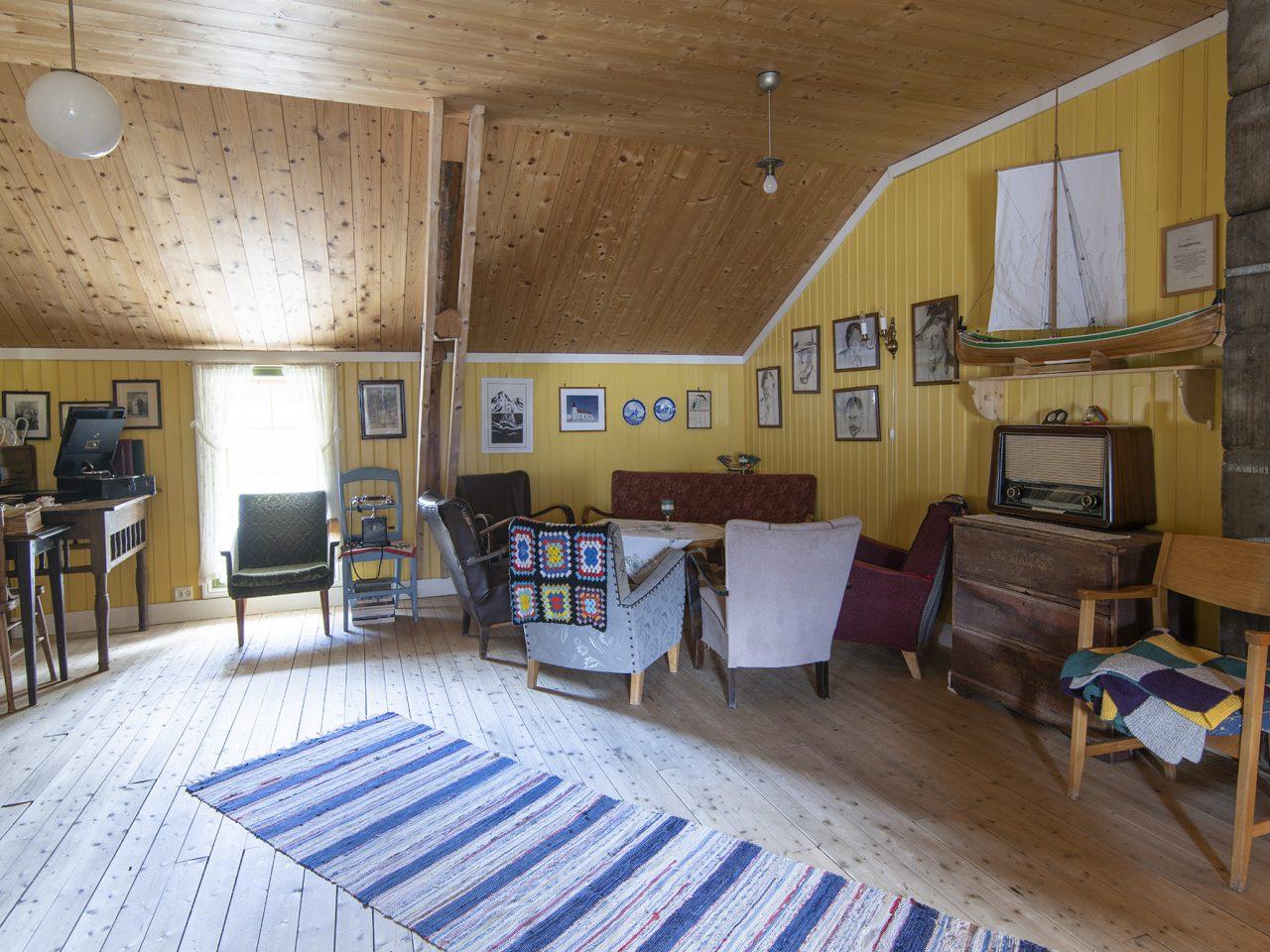 Loftet på Wangbrygga i Bardal, Leirfjord
