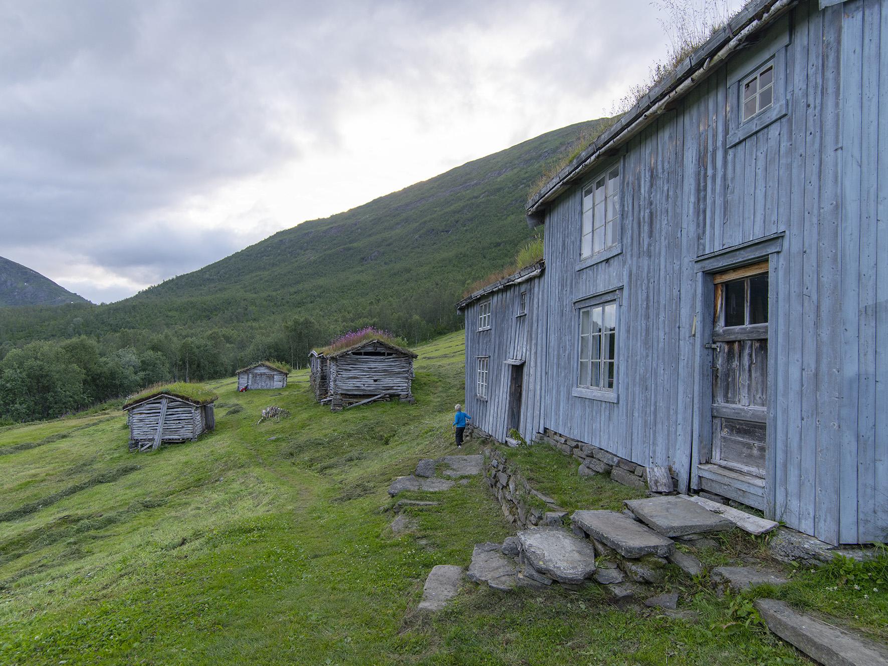 Hovedhuset på Bredek fjellgård