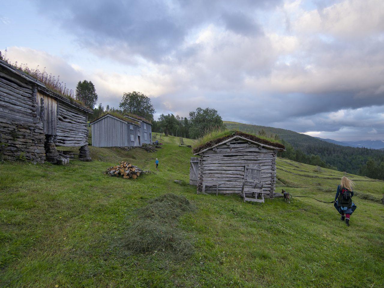 Rana, Bredek fjellgård med innmark