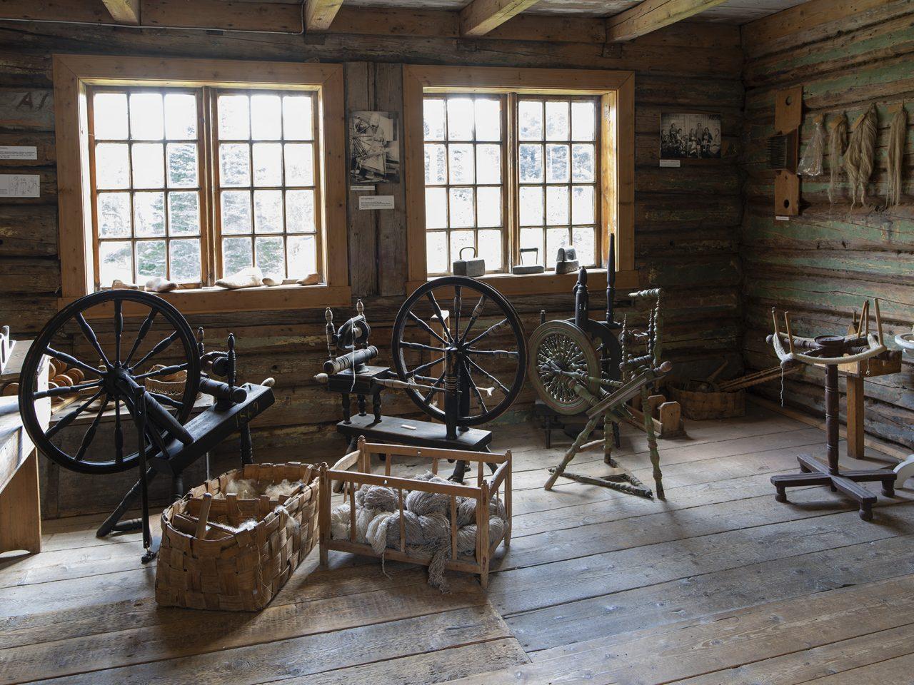 Vefsn.Tekstilutstilling Rynesstua