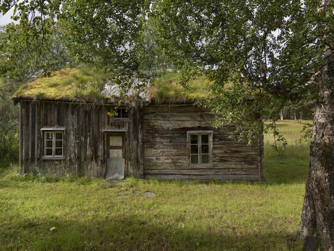 Hattfjelldal. gammel butikken kroken