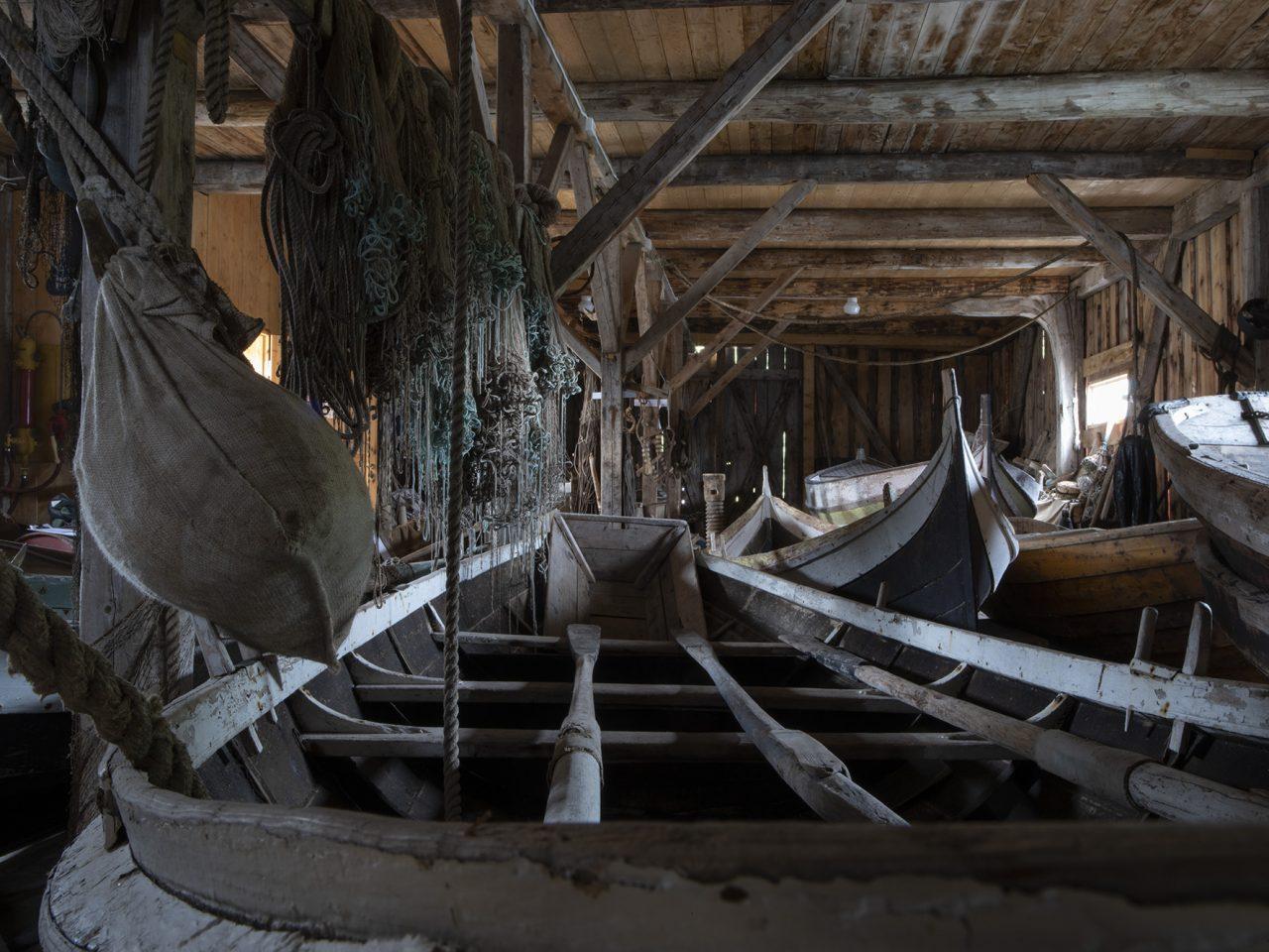 Båtutstilling på Falch gamle handelssted