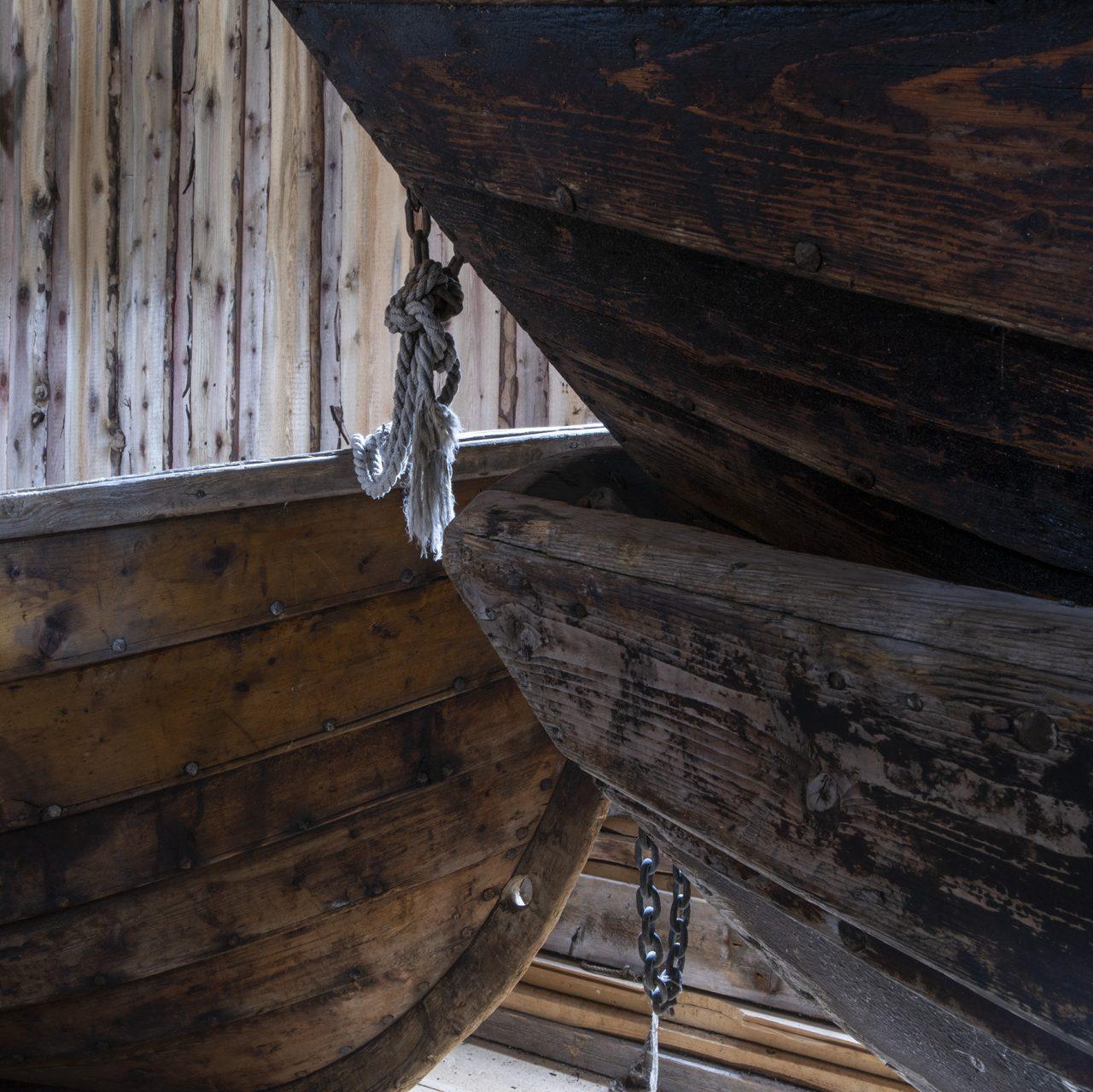 Båtdetalj, Falch gamle handelssted