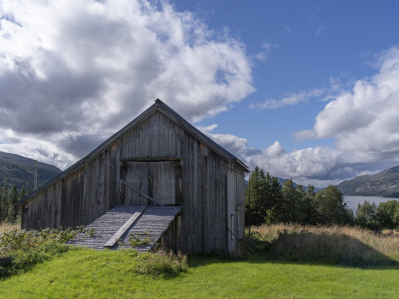 Fjøsen på Bindal bygdetun