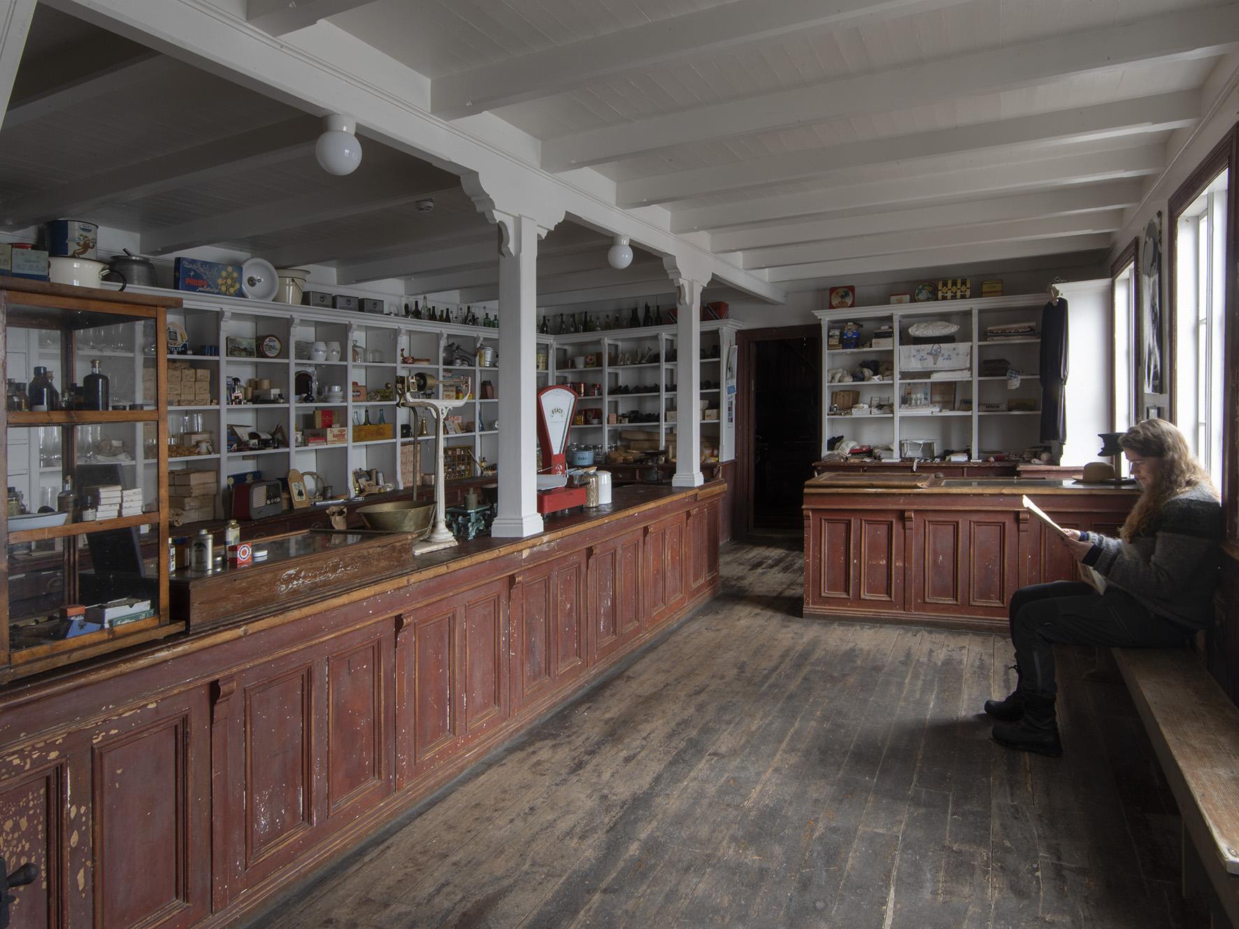 Butikken på Falch gamle handelssted, Rødøy