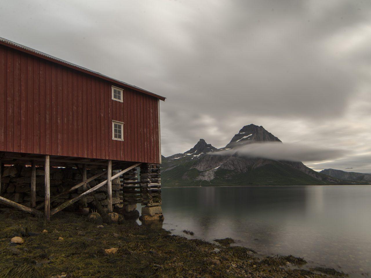 Litjbrygga og Blokktind, Falch gamle handelssted, Rødøy