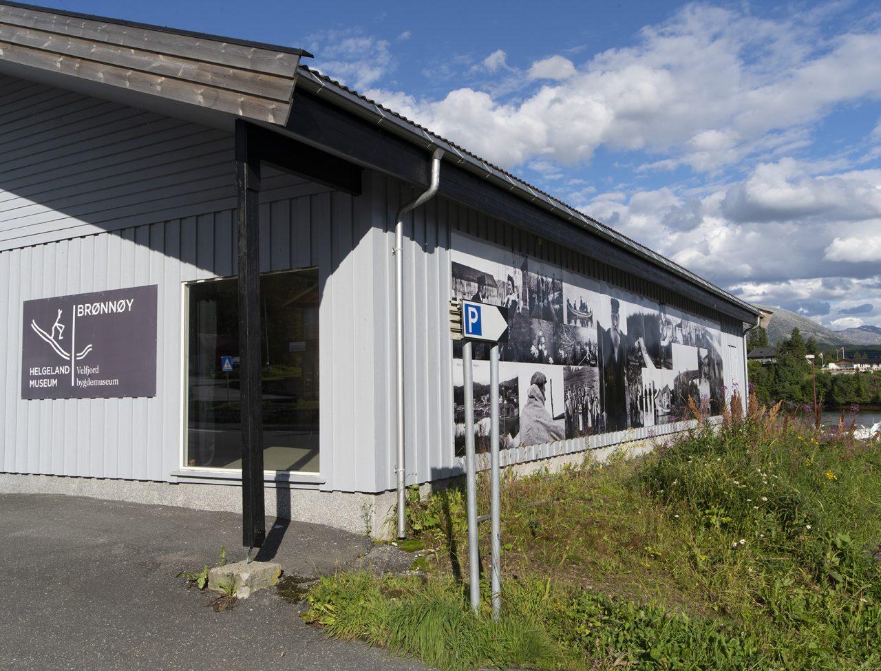 Museumsbygget i Hommelstø,