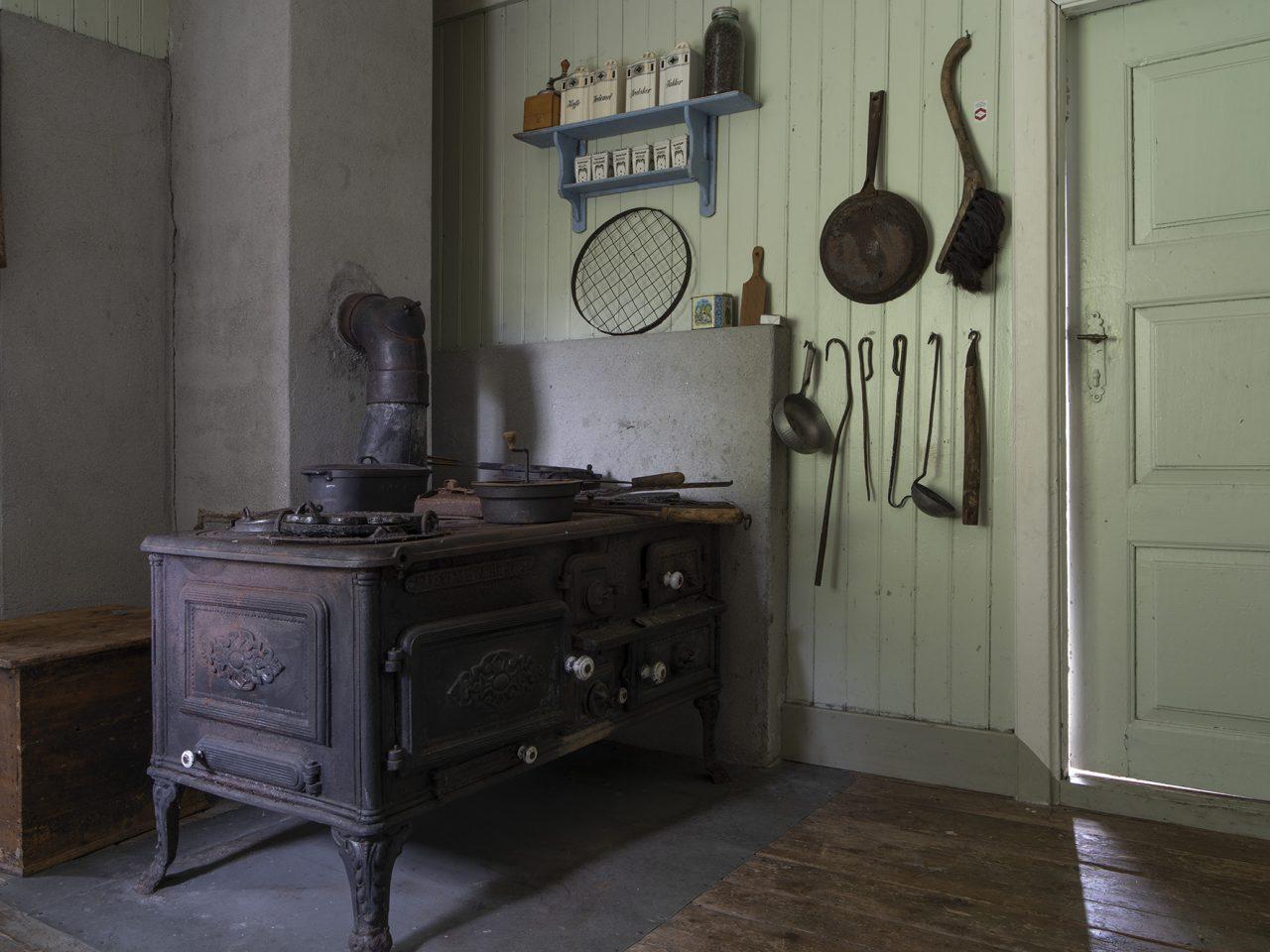 Kjøkken på Sømna bygdetun