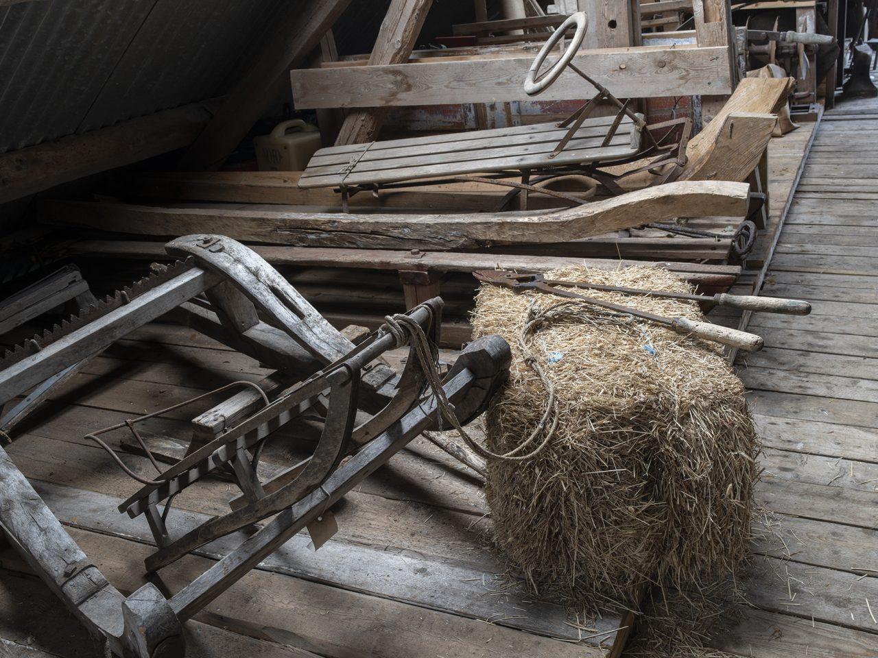 Gjenstander på Sømna bygdetun