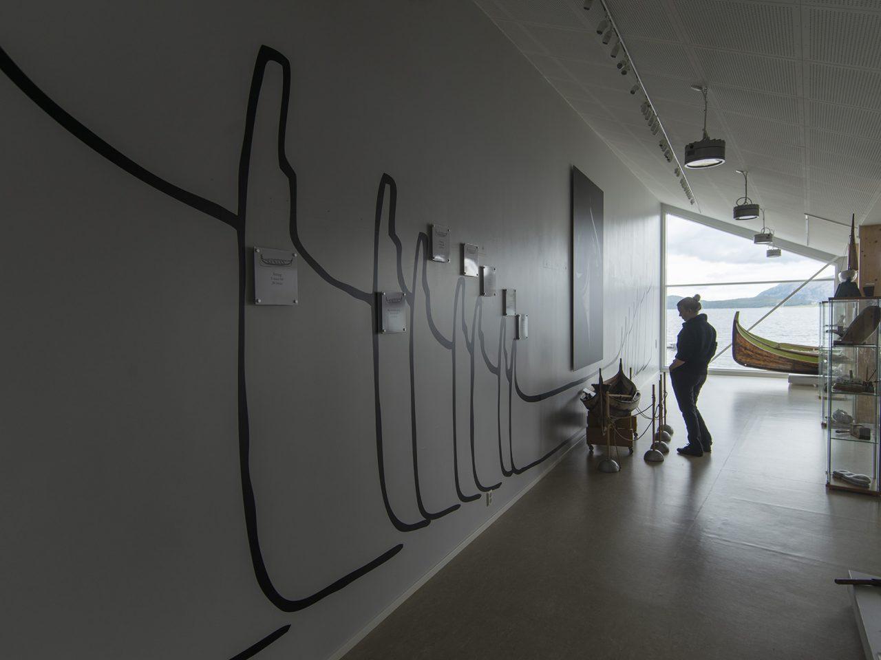 Fra utstillingen på Bindal museum, Terråk