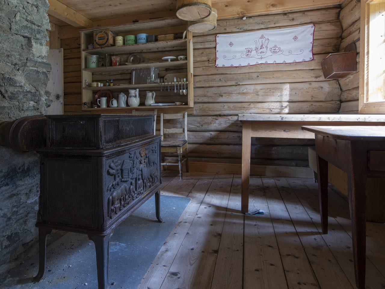 Kjøkken på Grane bygdetun