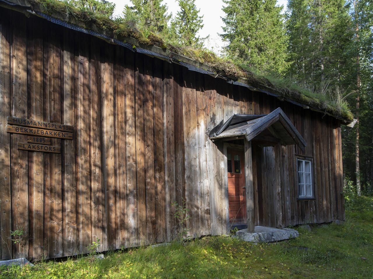 Husmannsplassen Bekkjebakken på Grane bygdetun