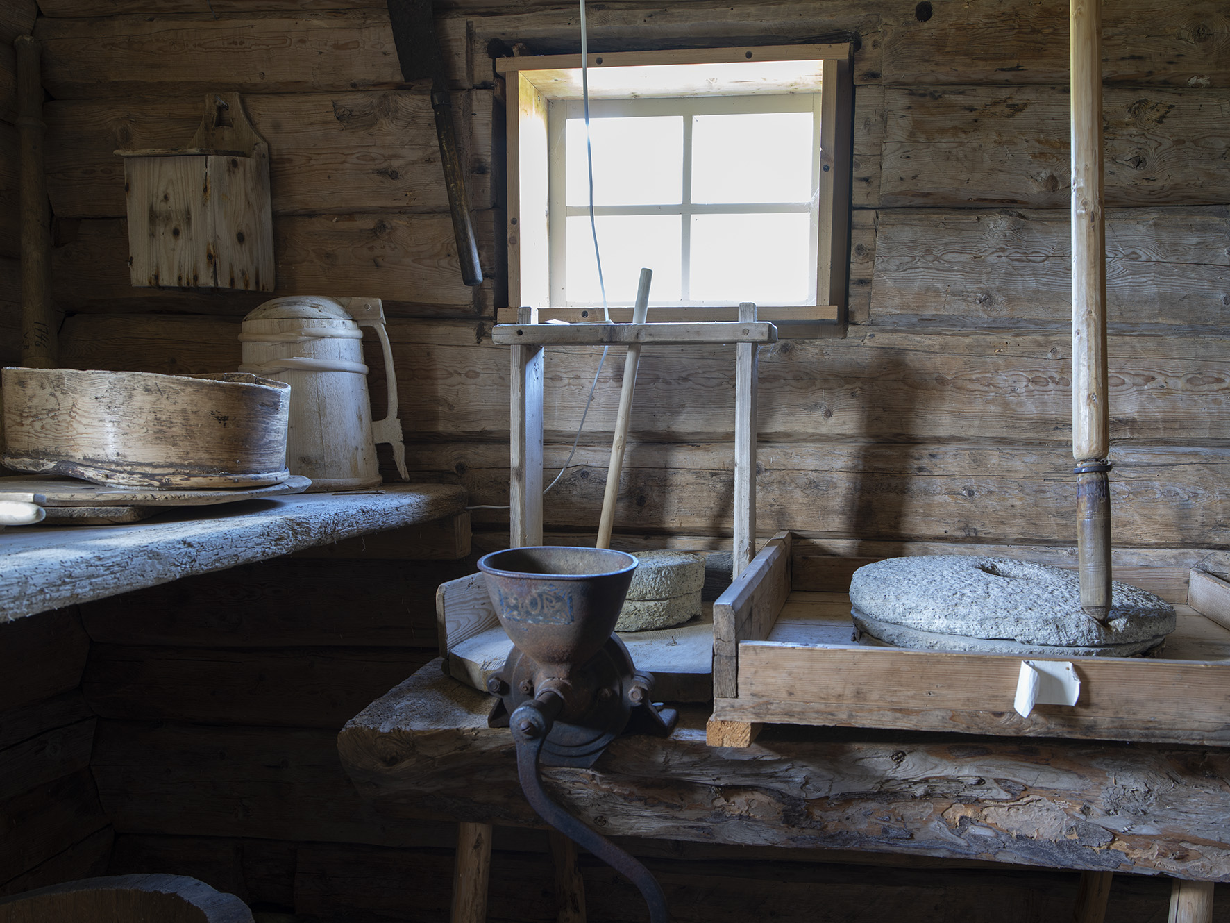 Stabbur fra Lille-Hegge, på Strøm Minnetun