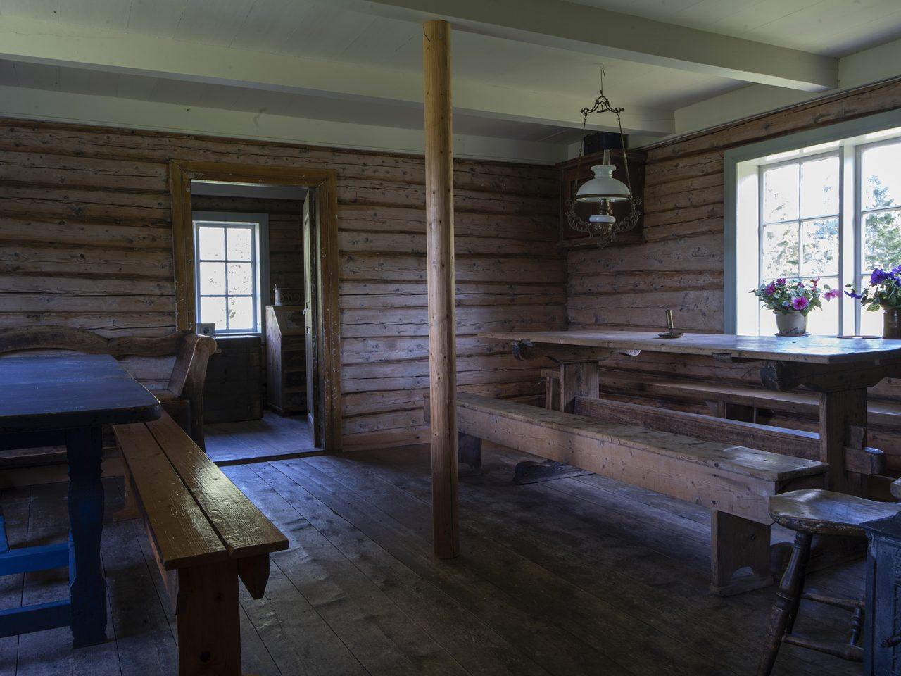 Langfjordgåstua, på Strøm minnetun