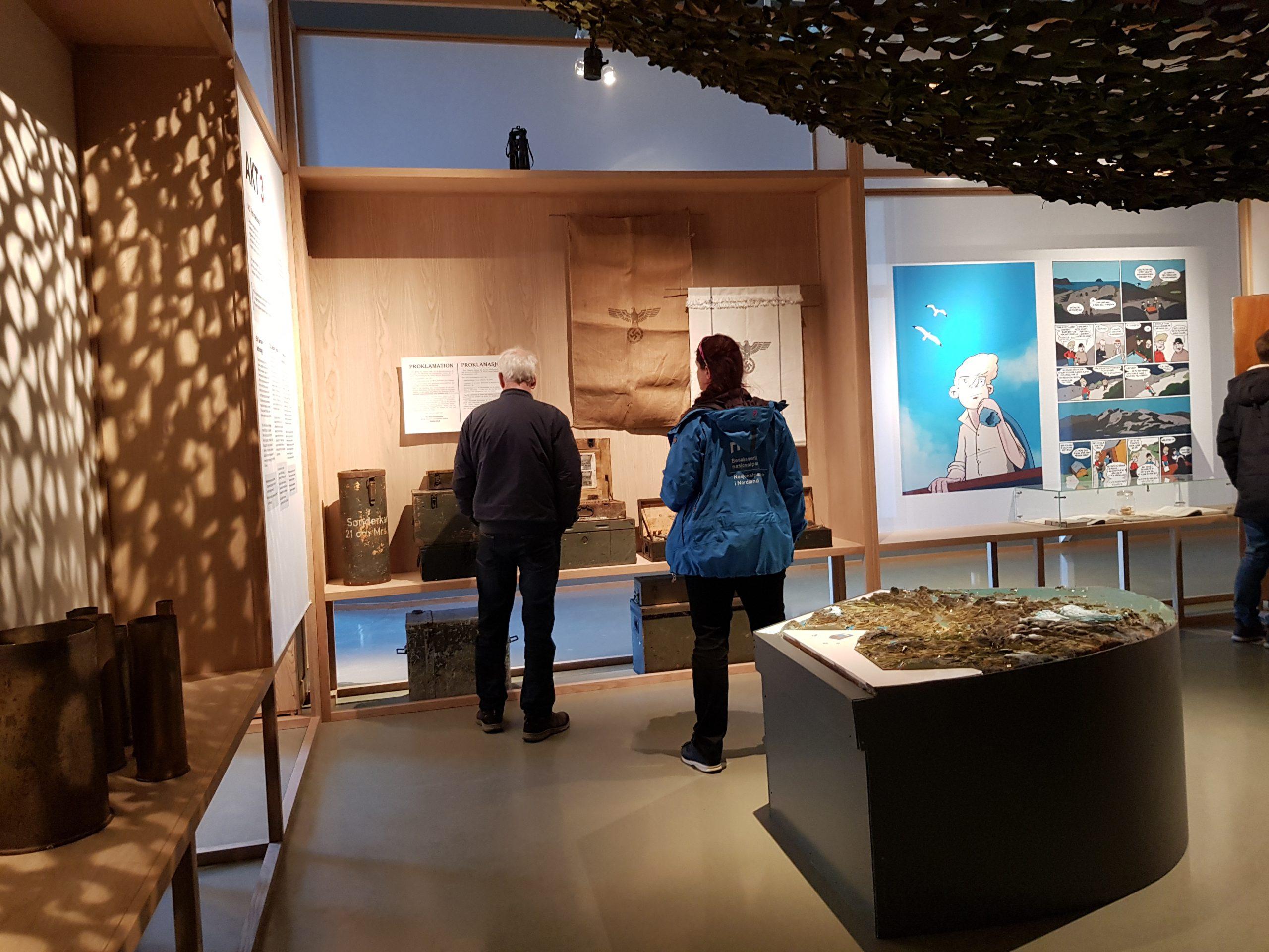 Utstillingen på Grønsvik kystfort, Lurøy