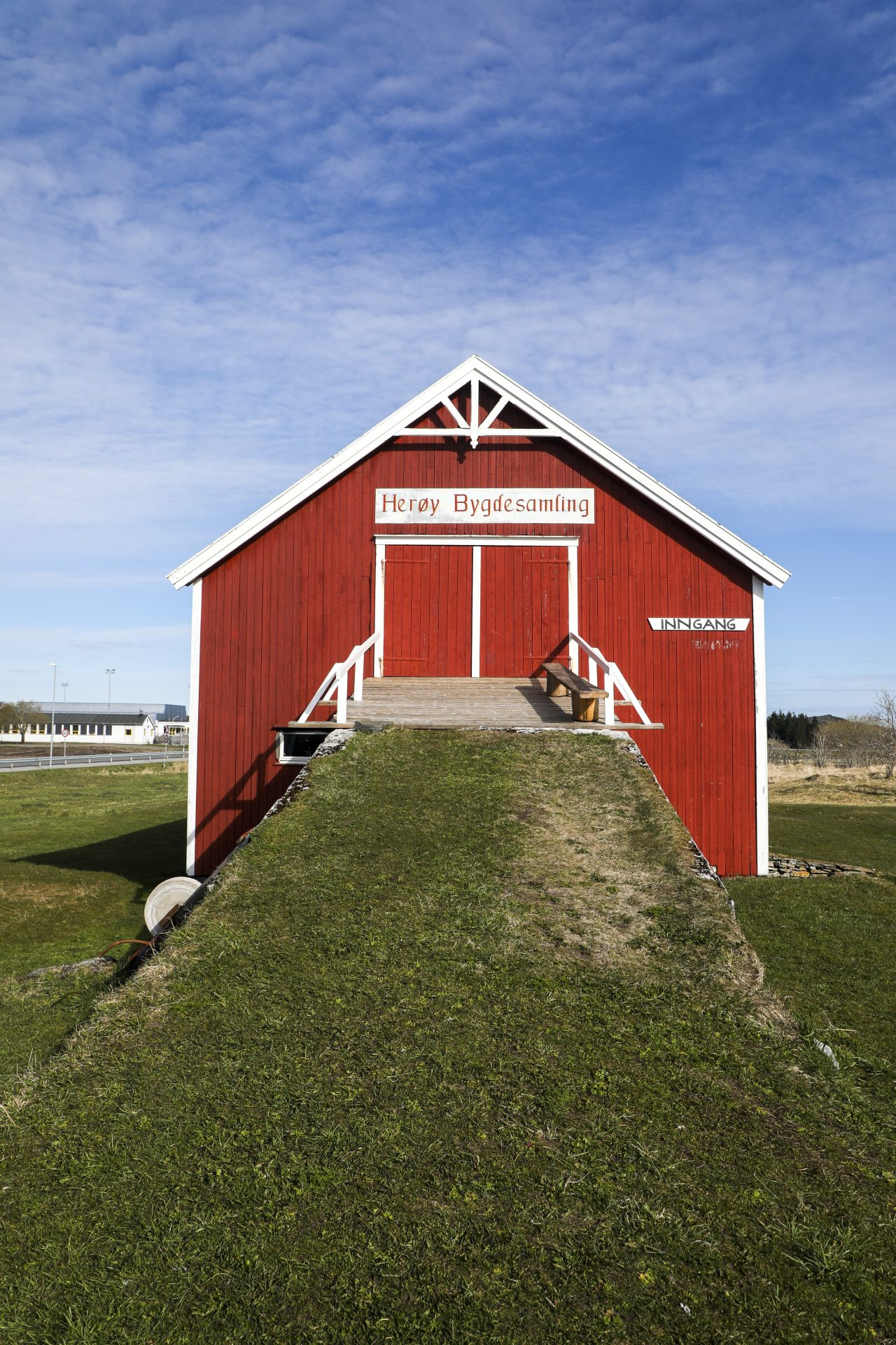 Låven, Herøy bygdesamling.