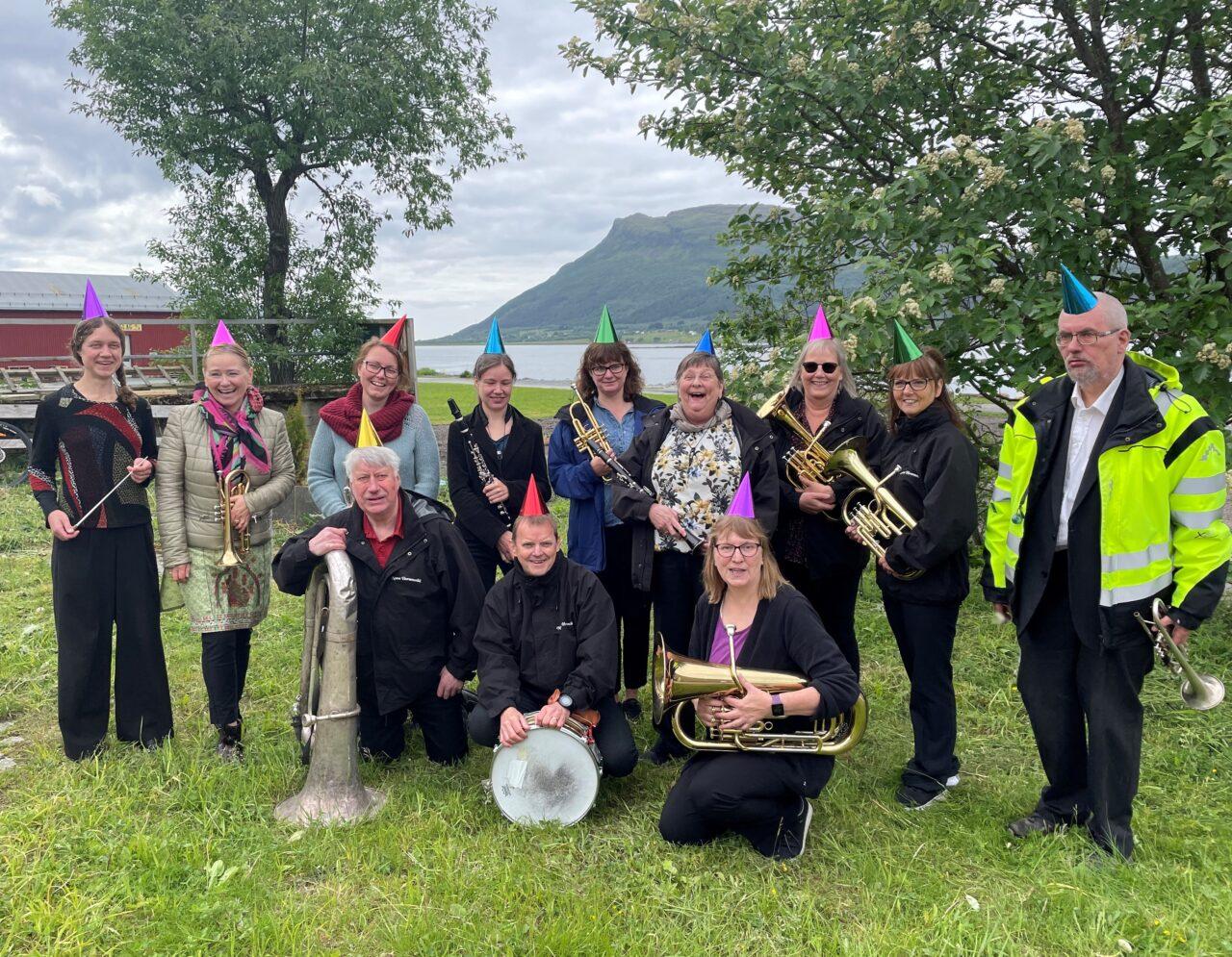 Nesna hornmusikks medlemmer