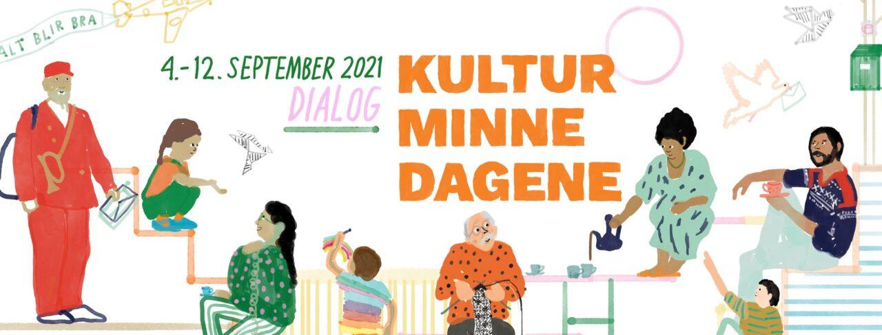 Illustrasjon Kulturminnedagene 2021