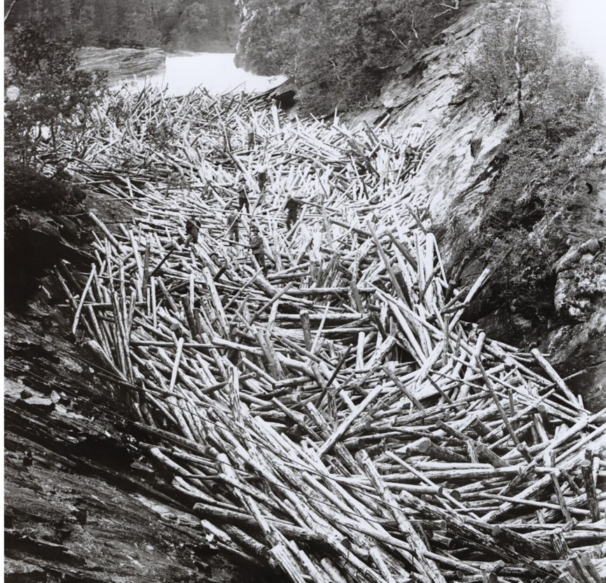 Tømmerfløting i Bindal